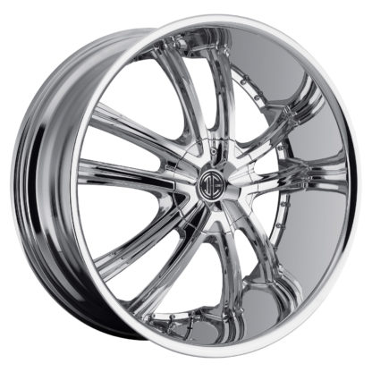 2Crave No. 21 Chrome Custom Wheel