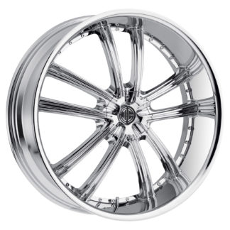 2Crave No. 24 Chrome Custom Wheel
