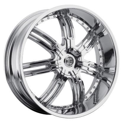 2Crave No. 27 Chrome Custom Wheel