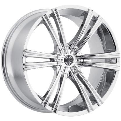 2Crave No. 28 Chrome Custom Wheel