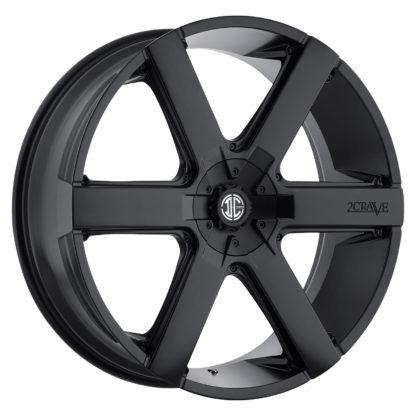 2Crave No. 31 Satin Black / Custom Wheel