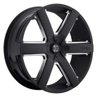 2Crave No. 31 Satin Black / Custom Wheel / Chrome Insert