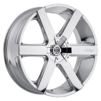 2Crave No. 31 Chrome Custom Wheel