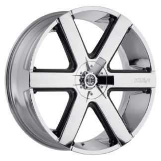 2Crave No. 31 Chrome Custom Wheel / Black Insert