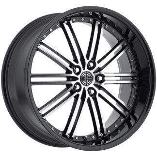 2Crave No. 33 Glossy Black / Machined Face / Custom Wheel