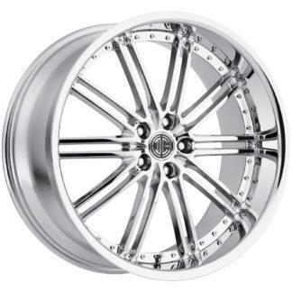 2Crave No. 33 Chrome Custom Wheel