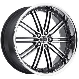 2Crave No. 33 Black Diamond Signature Series Custom Wheel