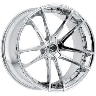 2Crave No. 34 Chrome Custom Wheel