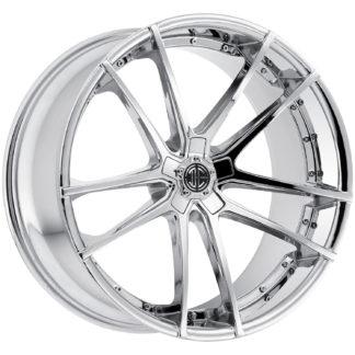 2Crave No. 34 Chrome Custom Wheel