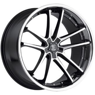 2Crave No. 34 Black Diamond Signature Series Custom Wheel