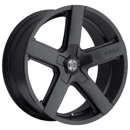 2Crave No. 35 Satin Black / Custom Wheel