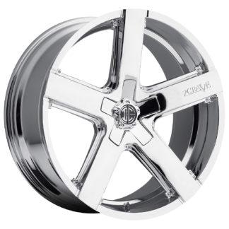 2Crave No. 35 Chrome Custom Wheel