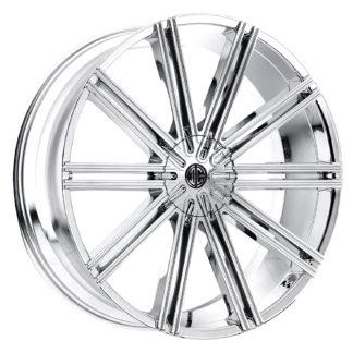 2Crave No. 47 Chrome Custom Wheel (New)