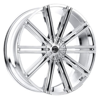 2Crave No. 47 Chrome Custom Wheel (New)