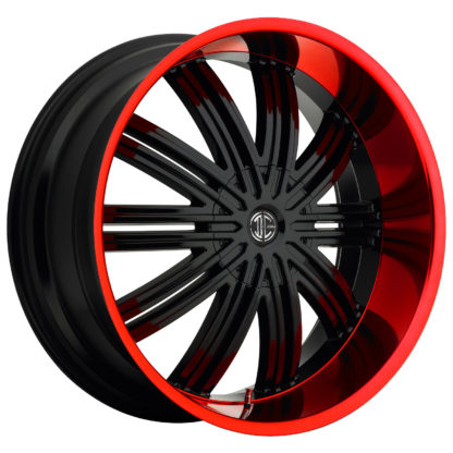2Crave No. 07 Fiero Red Lip  Custom Wheel