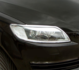 ABS Chrome Head Light Bezel 2007 - 2009 Audi Q7