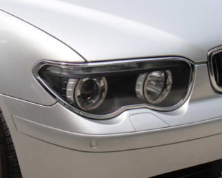 ABS Chrome Head Light Bezel 2002 - 2005 BMW 7-Series-E65