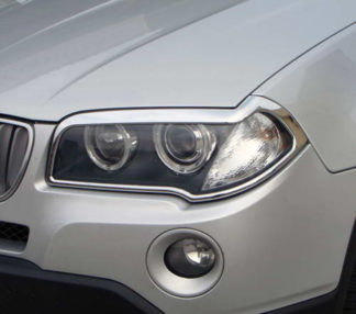 ABS Chrome Head Light Bezel 2004 - 2010 BMW X3-Series-E83
