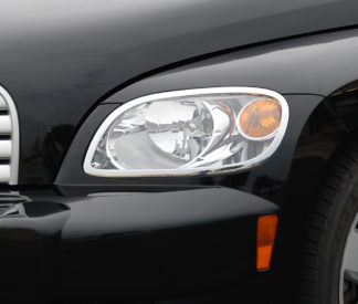 ABS Chrome Head Light Bezel 2006 - 2011 Chevy HHR