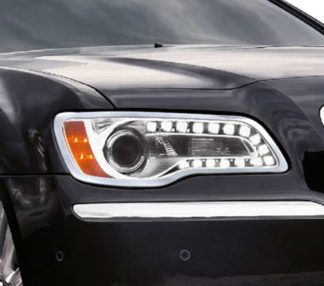 ABS Chrome Head Light Bezel 2011 - 2013 Chrysler 300/300S/SRT8