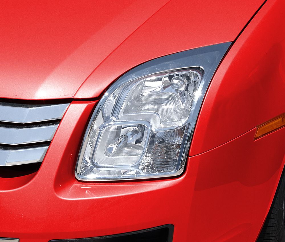 ABS Chrome HeadLight Bezel 2006 - 2009 Ford Fusion
