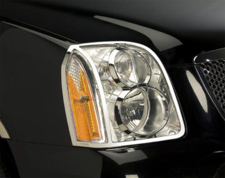 ABS Chrome Head Light Bezel 2007 - 2013 GMC Yukon