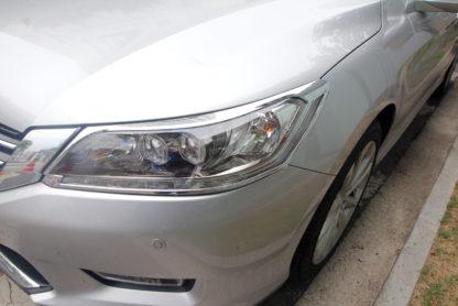 ABS Chrome Head Light Bezel 2013 - 2014 Honda Accord-Sedan
