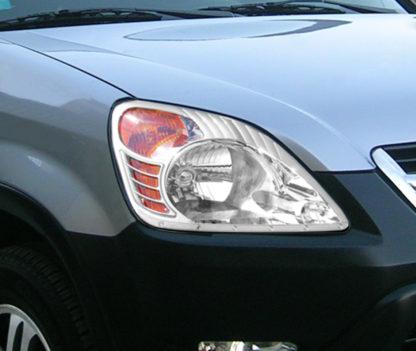ABS Chrome Head Light Bezel 2002 - 2006 Honda CR-V
