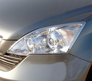 ABS Chrome Head Light Bezel 2007 - 2011 Honda CR-V
