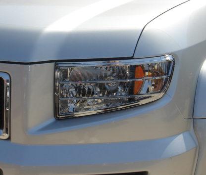 ABS Chrome Head Light Bezel 2006 - 2008 Honda Ridgeline