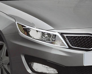 ABS Chrome Head Light Bezel 2011 - 2013 Kia Optima