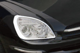 ABS Chrome Head Light Bezel 2007 - 2009 Kia Rondo