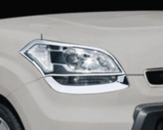 ABS Chrome Head Light Bezel 4-Pc 2010 - 2011 Kia Soul