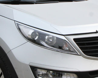 ABS Chrome Head Light Bezel 2011 - 2013 Kia Sportage