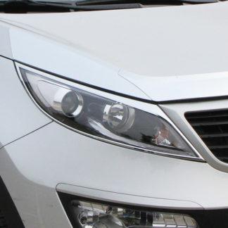 ABS Chrome Head Light Bezel 2011 - 2013 Kia Sportage