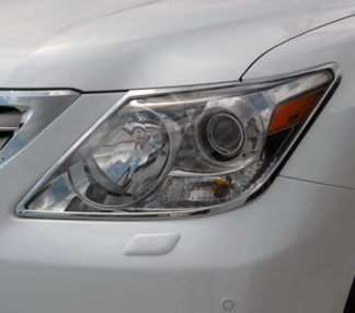 ABS Chrome Head Light Bezel 2008 - 2013 Lexus LX-Series