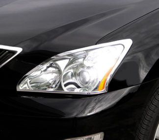 ABS Chrome Head Light Bezel 2004 - 2009 Lexus RX-series