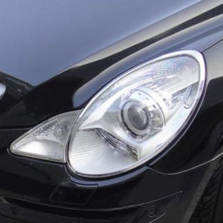 ABS Chrome Head Light Bezel 2006 - 2010 Mercedes-Benz R-Class-V251