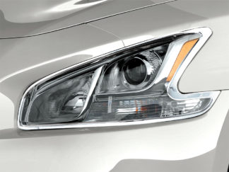 ABS Chrome Head Light Bezel 2009 - 2013 Nissan Maxima
