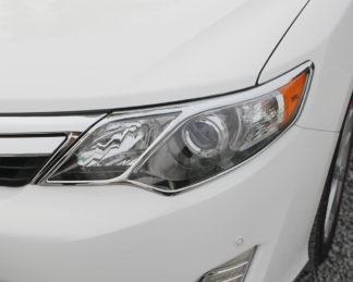 ABS Chrome Head Light Bezel 2012 - 2014 Toyota Camry
