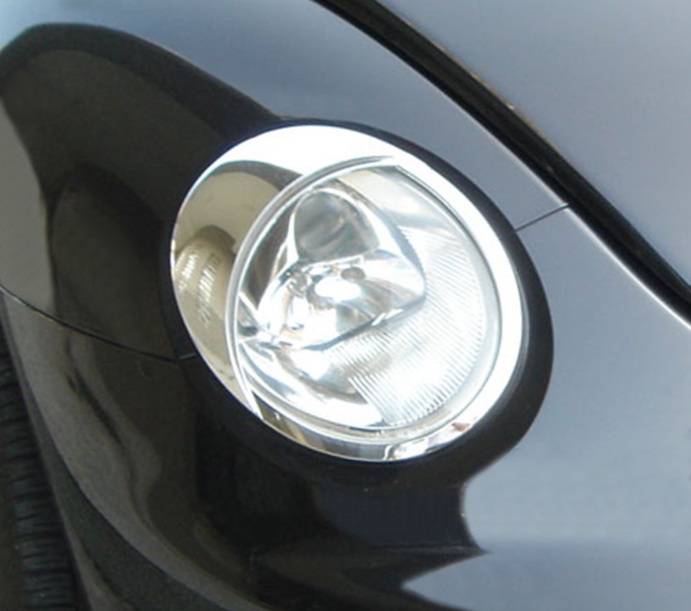 ABS Chrome Head Light Bezel 1998 - 2005 Volkswagen New-Beetle