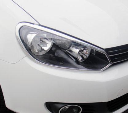 ABS Chrome Head Light Bezel 2010 - 2014 Volkswagen Golf6/GTI