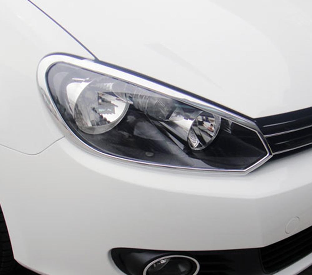 ABS Chrome Head Light Bezel 2010 – 2014 Volkswagen Golf6/GTI