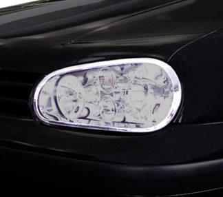 ABS Chrome Head Light Bezel 1999 - 2005 Volkswagen Golf4/GTI