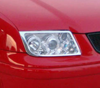 ABS Chrome Head Light Bezel 1999 - 2004 Volkswagen Jetta