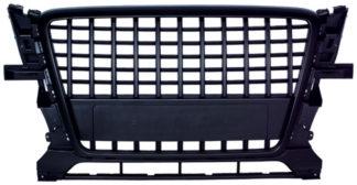 72R-AUQ509SL-BK ABS Replacement Grille S-Line Type Matte Black Frame Matte Black Finish