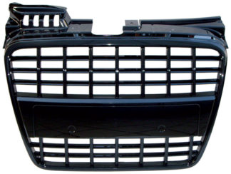 72R-AUS406OE-BK ABS Replacement Grille Factory Style Matte Black Frame/Matte Black Finish