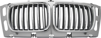 72R-BM5SE3494-CCS ABS Performance Grille Chrome Frame/Chrome-Silver Fence