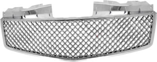 72R-CACTS03-SME Chrome ABS Replacement Grille Bentley Mesh Style