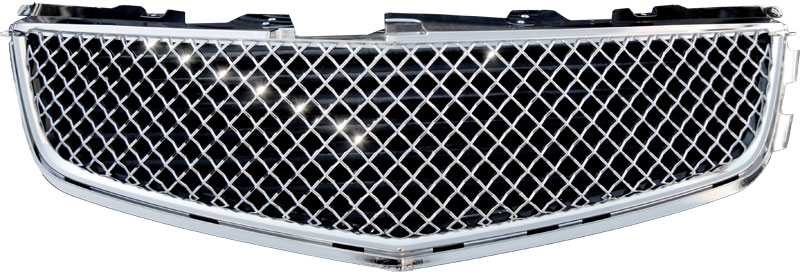 72R-CACTV08T-GOE ABS Chrome Performance Grille. (Fits CTS-Sedan With CTS-V Upgraded Bumper)